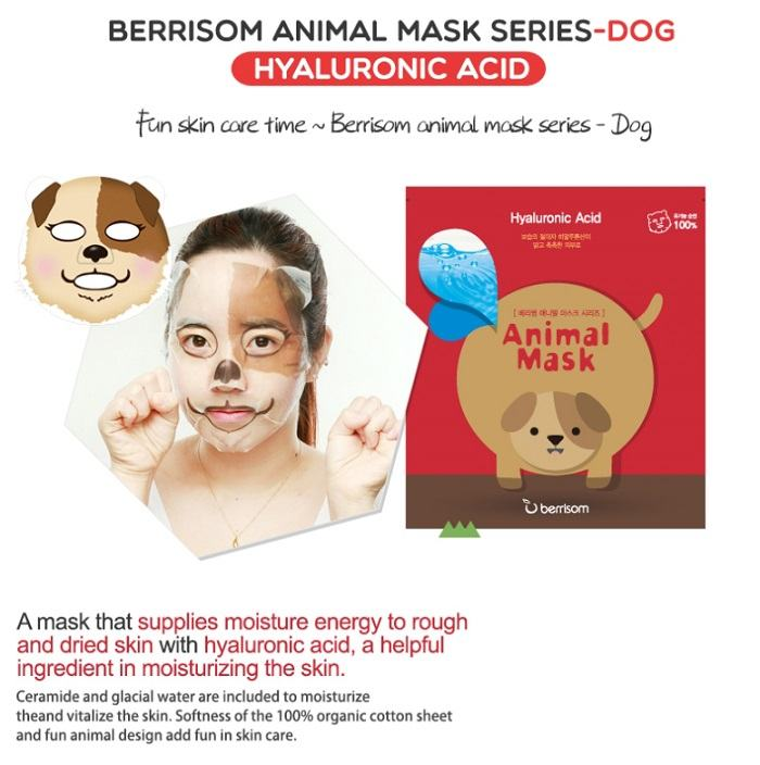 Korean Cosmetics-Berrisom Animal Mask