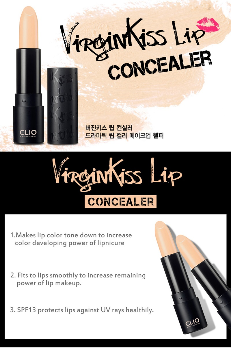 CLIO Virgin Kiss Lip Concealer (SPF13)