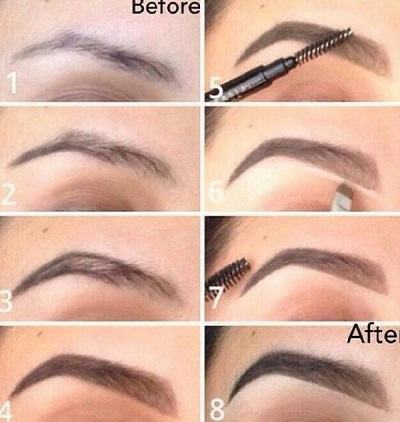 Korean-makeup-eyebrow