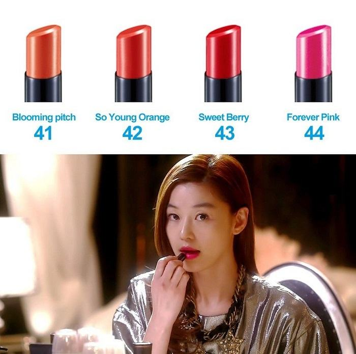 Korean Cosmetics-IOPE Water Fit Lipstick - 4 Colors (3.20g)