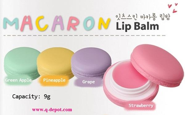 Korean Makeup-It's Skin Macaron Lip Balm