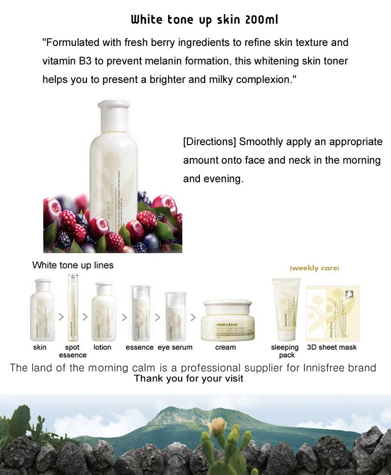 Innisfree White Tone Up Skin - 200ml