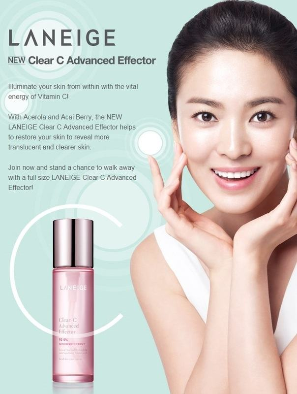 LANEIGE Clear C Advanced Effector NEW