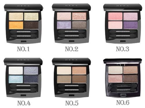 Korean Makeup-HERA Shadow Holic 4D