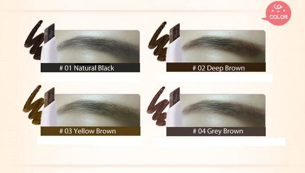 It's Skin Babyface Natural Eyebrow - 4 Colors