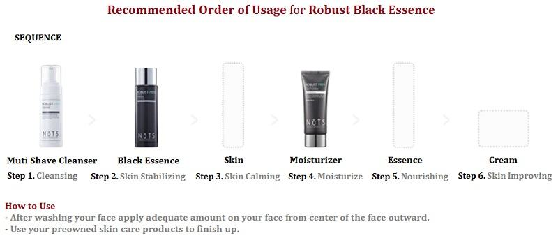 Korean Cosmetics-NoTS Robust Multi Shave  Cleanser For Men