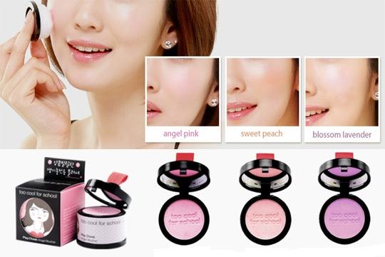 Korean Makeup-Too Cool for School Play Cheek Angel Blusher
